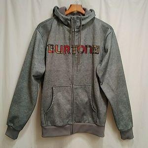 Burton dryride full zip hooded sweatshirt